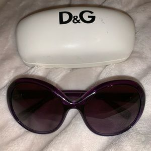 D&G round sunglasses